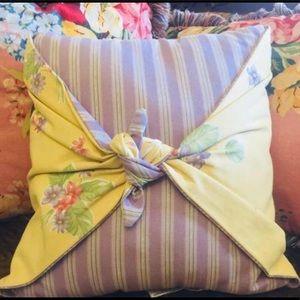 "Waverly garden  Room  decorative pillow 16"""